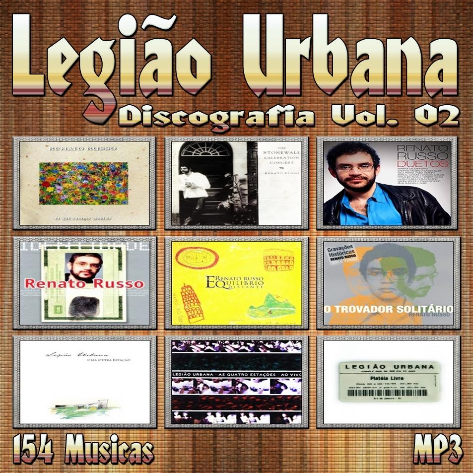 discografia completa do legiao urbana