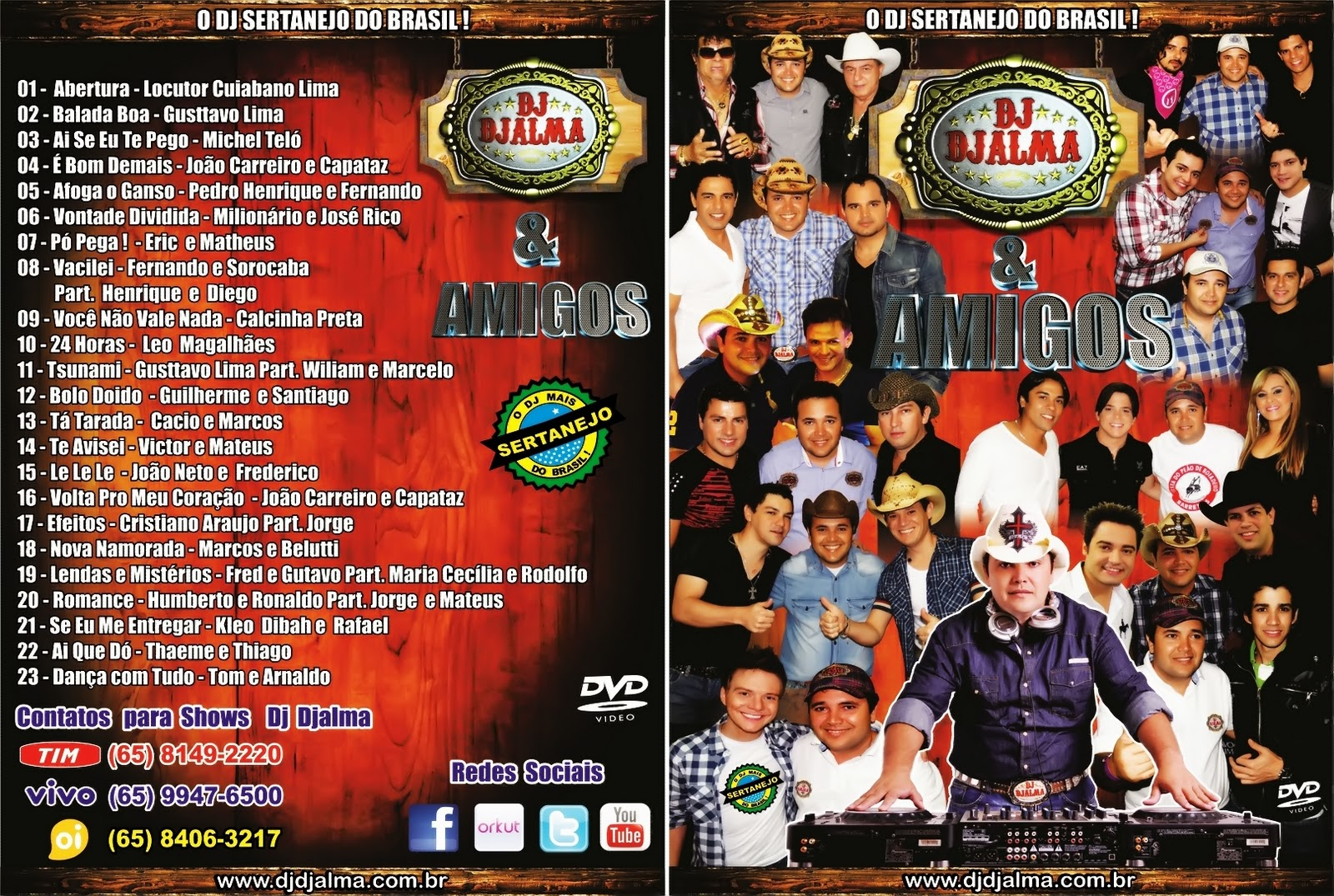 cd dj djalma sertanejo pop